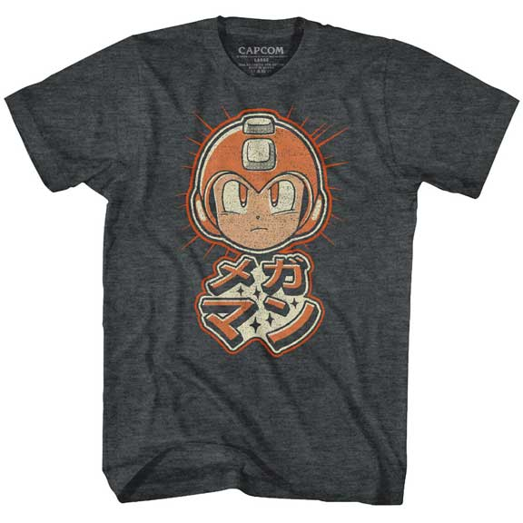 Mega Man Adult Shirt - Mega Retro