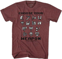 Monster Hunter Choose Your Weapon Adult Shirt
