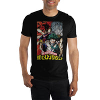 My Hero Academia Adult Shirt - Deku, All Might & Tomura Shigaraki
