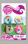 My Little Pony 4 Pack Pin Set