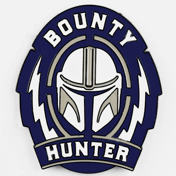 Star Wars The Mandalorian Bounty Hunter Lapel Pin