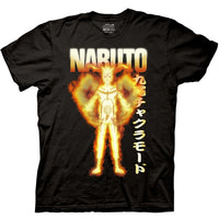 Naruto Biju Mode Adult Shirt