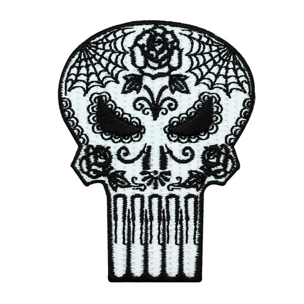 Marvel Sugar Skull Punisher Patch