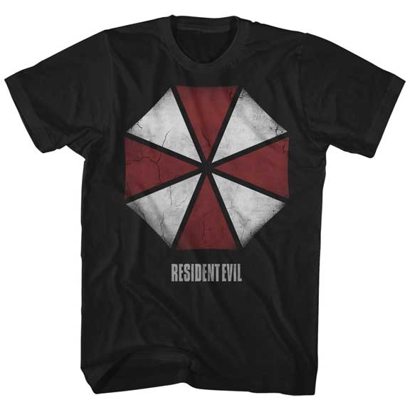 Resident Evil Large Umbrella Logo Shirt