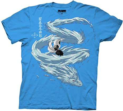 Bleach Toshiro Dragon Adult Shirt