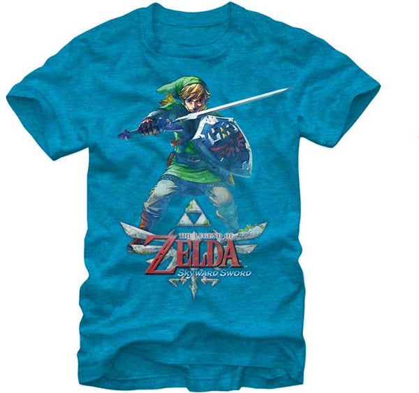The Legend of Zelda Skyward Sword Link Adult Shirt
