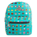Animal Crossing Character Print Mini Backpack