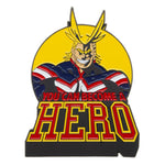 "My Hero Academia All Might 3"" Large Lapel Pin"