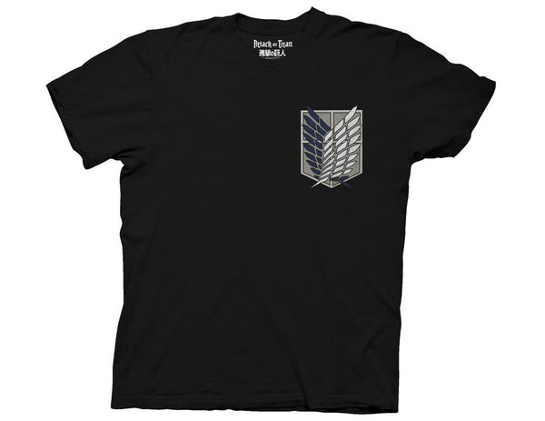 ATTACK ON TITAN SURVEY CORPS CREW T-SHIRT