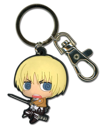 Attack on Titan PVC Keychain - Armin