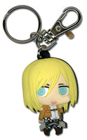 Attack on Titan PVC Keychain - Christa