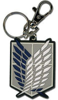 Attack on Titan PVC Keychain - Scout Regiment