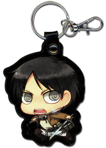 ATTACK ON TITAN - SD ERIN PU LEATHER KEYCHAIN