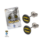 Batman Logo Earrings