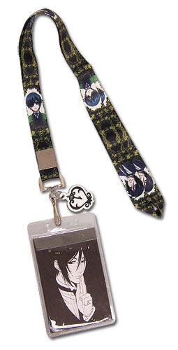 Black Butler Lanyard Sebastian and Ciel