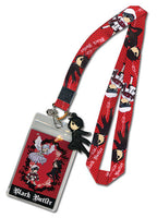 BLACK BUTLER - SD CHARACTERS LANYARD