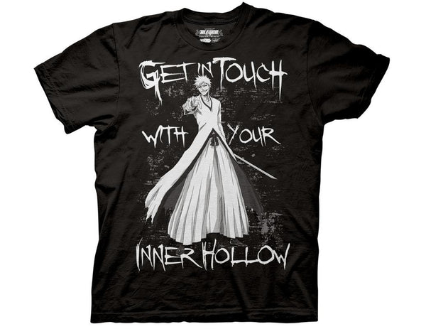 BLEACH YOUR INNER HOLLOW CREW T-SHIRT