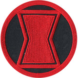 Marvel Black Widow Logo Patch