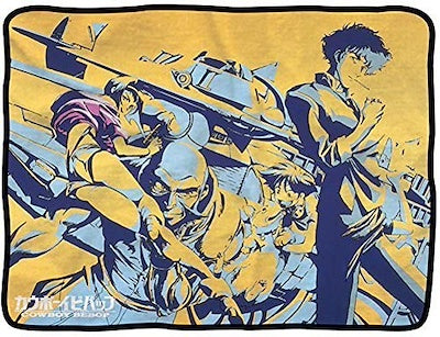 Cowboy Bebop Pose Throw Blanket