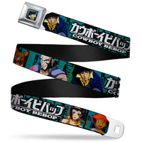 Cowboy Bebop Character Pose Seatbelt Belt by Buckle-Down