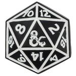 D&D Dice Lapel Pin
