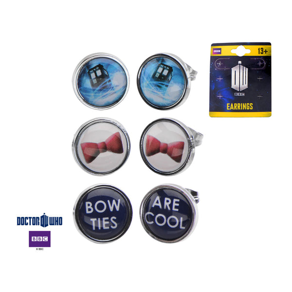 Doctor Who Earring Set