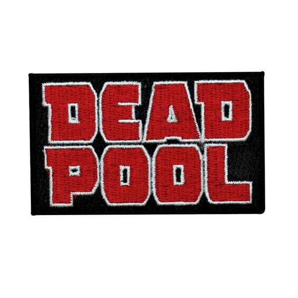 Marvel Deadpool Logo Patch