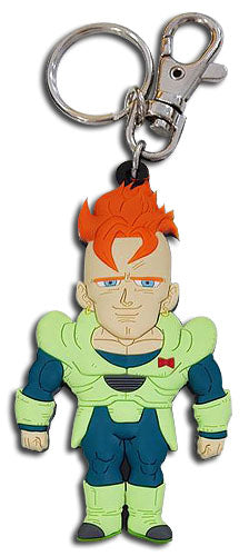 DRAGON BALL Z - SD ANDROID 16 PVC KEYCHAIN