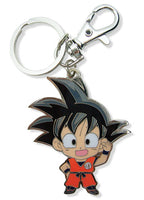 DRAGON BALL Z SD GOKU METAL KEYCHAIN