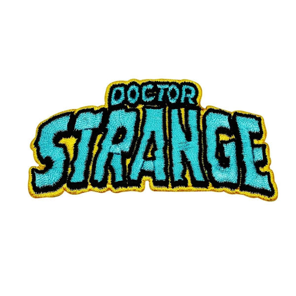 Marvel Doctor Strange Logo Patch