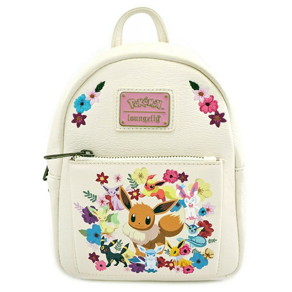 Pokemon Eeveelutions Floral Mini Backpack by Loungefly