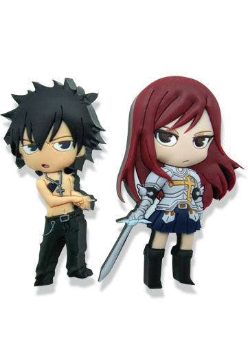 Fairy Tail Pin Set - Gray & Erza