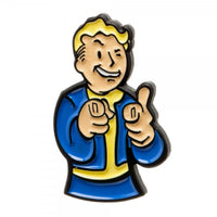 Fallout Vault Boy Lapel Pin