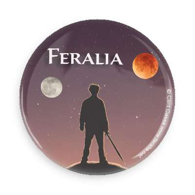 Feralia Button - Felix and Moons with Logo