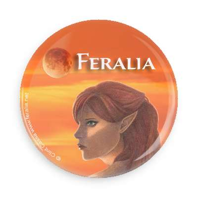 Feralia Button - Theida with Logo