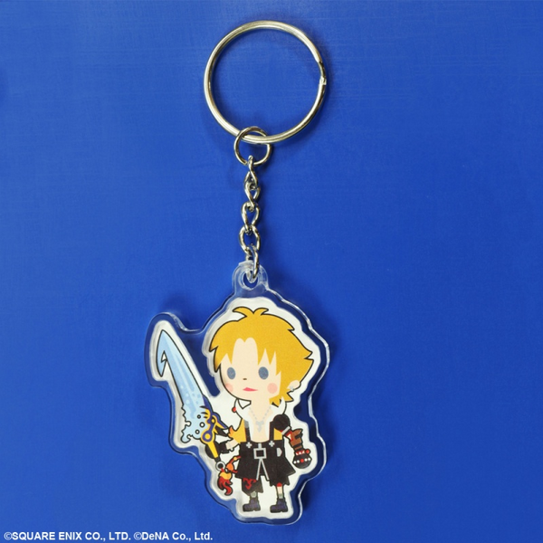 Final Fantasy Theatrhythm Keychain - Tidus