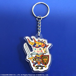 Final Fantasy Theatrhythm Keychain - Warrior of Light