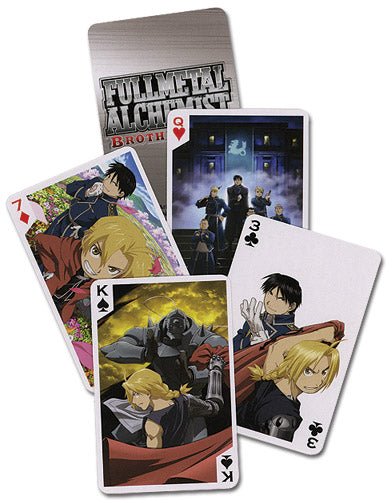 FULLMETAL ALCHEMIST BROTHERHOOD PLAYING CARDS
