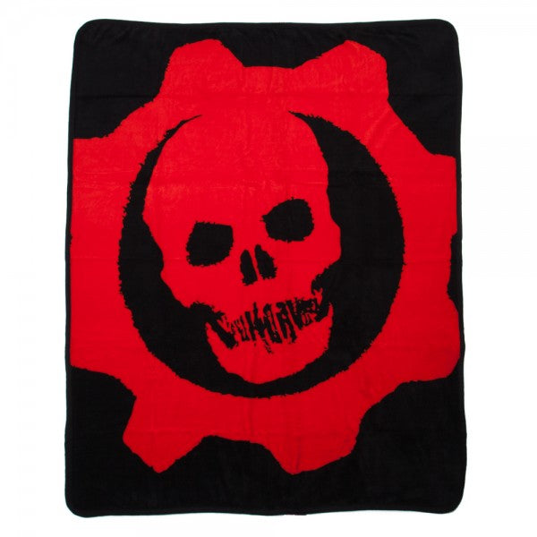 Gears Of War Logo Throw Blanket