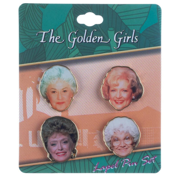 Golden Girls Lapel Pin Set