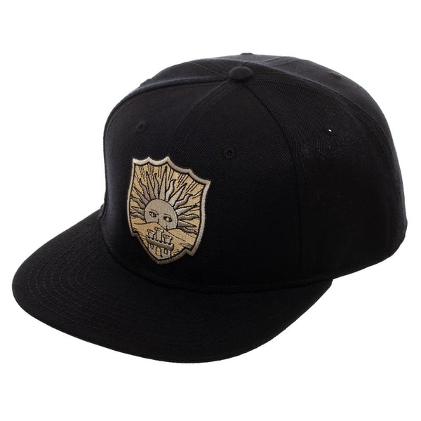 Black Clover Crests Snap Back - Golden Dawn