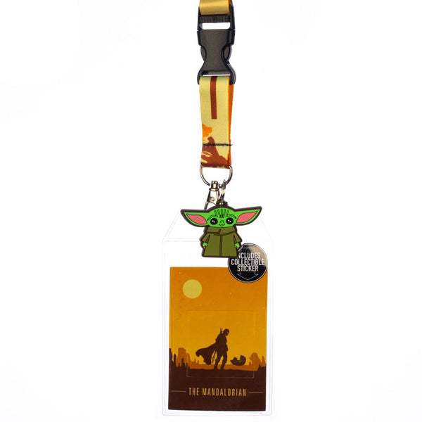 Star Wars The Mandalorian Grogu Lanyard
