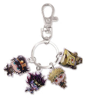 JOJO'S BIZARRE ADVENTURE - GROUP SD METAL KEYCHAIN