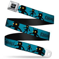 KINGDOM HEARTS Heartless Shadow Poses Seatbelt Belt by Buckle-Down