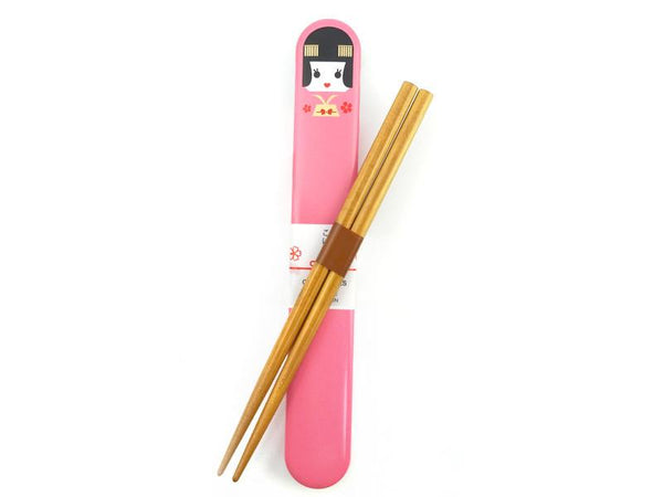 Kokeshi Chopsticks Set - Maiko