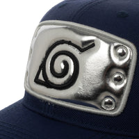 Naruto Leaf village inspired Pre-Curved Bill Snapback