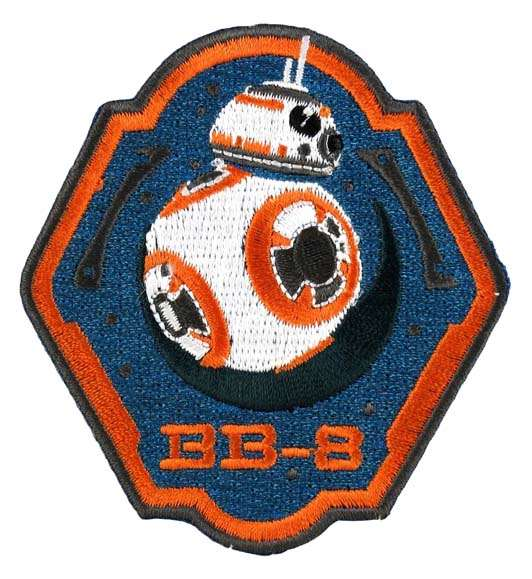 Loungefly Star Wars BB-8 Droid Embroidered Patch