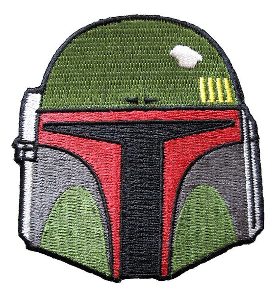 Loungefly Star Wars Boba Fett Helmet Embroidered Patch