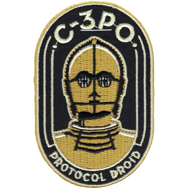 Loungefly Star Wars C-3PO Protocol Droid Embroidered Patch