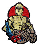 Loungefly Star Wars C-3PO Stay Gold Tattoo Art Embroidered Patch